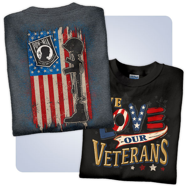 new concept d4fbf ac699 NewLife Patriotic T-Shirts and American Veteran Apparel