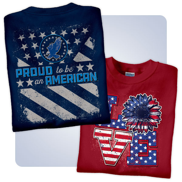 July 4th Patriotic T-Shirts