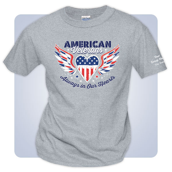 Patriotic T-Shirts for Valentines Day